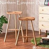送料無料 バー スツール BAR STOOL デザイナーズチェア 北欧チェア リプロダクト ジェネリック 木製椅子 ダイニングチェア Yチェア 北欧家具 (ダイニングチェアー デザイナーズ ワイチェア デザイナーズ家具)