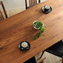 ショッピングダイニングテーブル 無垢材180ダイニングテーブル Leaves(リーヴス)日本製 (ウォールナット 木製 天然木 無垢テーブル カフェ風 食卓テーブル ウッドテーブル)