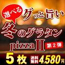 ピザなら【期間限定販売】冬のグラタンピザ★第二弾 5種から選べる冬限定のピザ 5枚