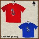 【SALE60%OFF】Soccer Junky【サッカージャンキー】半袖TEE パンディアーニ君〈セール サッカー フットサル〉SJ-15FUKU-7