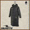 DalPonte【ダウポンチ】ベンチコート〈サッカー フットサル ベンチウォーマー ダウン 防寒着〉DPZ61