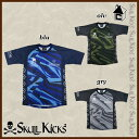 【SALE25%OFF】SKULLKICKS【スカルキックス】CAMO GAME SHIRTS〈セール サッカー フットサル カモゲームシャツ プラシャツ ユニフォーム〉SK15AW019