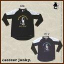 Soccer Junky【サッカージャンキー】蹴球2日-C(インナー付きプラシャツ)〈サッカー フットサル〉SJ15052