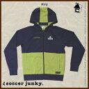【SALE20%OFF】Soccer Junky【サッカージャンキー】サッカー旅の心得1(Wフェイスジップパーカー)〈サッカー フットサル〉SJ15072