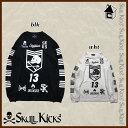SKULLKICKS【スカルキックス】LINE LONG PLA SHIRTS〈サッカー フットサル ゲームシャツ プラシャツ〉SK16AW004