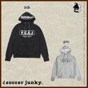 Soccer Junky【サッカージャンキー】Ringhio+1 スウェットジップパーカー〈スエット パンディアーニ君〉SJ16517