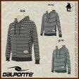 DalPonte【ダウポンチ】ボーダースウェットジップパーカー〈サッカー フットサル スエット リラックス フード〉DPZRX-09