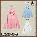 【SALE24%OFF】LUZ e SOMBRA/LUZeSOMBRA【ルースイソンブラ】SOFT FEEL ONE POINT FULL ZIP PARKA〈...