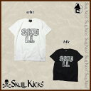 【SALE25%OFF】SKULLKICKS【スカルキックス】SKULL PAISLEY LOGO TEE〈セール サッカー フットサル スカルペイズリー Tシャツ〉SK16SS006