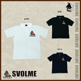 svolme【スボルメ】BIGロゴポロシャツ〈サッカー フットサル 半袖〉162-17610