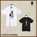 Soccer Junky【サッカージャンキー】タキシード犬 半袖Tシャツ〈スポーツ トレーニング パンディアーニ 横浜FC〉SJ17202
