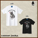 Soccer Junky【サッカージャンキー】ラブラブ ルポ ナディア 半袖Tシャツ〈スポーツ トレーニング パンディアーニ 横浜FC〉SJ17205