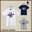 Soccer Junky【サッカージャンキー】10の継承 半袖Tシャツ〈メッシ ロナウジーニョ バルセロナ バルサ〉SJ18111