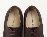 革靴スエードビジカジシューズ【LippiCENTiMETER4ビジカジ】ブラックブラウンメンズ本革ビジネスシューズカジュアルシューズ