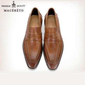 商務鞋皮鞋底革鞣淺棕色鞋業務硬幣 Macereto (磨損的雙關流行了好滑男裝鞋酷黑色高跟鞋品牌男裝鞋休閒鞋男子酷休閒鞋鞋鞋巴士籠春)