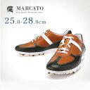 ゴルフシューズ 本革 カジュアル Marcato|おしゃれ 靴