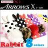 【高品質】 ARROWS X(F-02E ケース)専用!大人気の 水玉 うさぎ耳 ケース 9色 ( シリコン製 )【 スマホケース ケース カバー うさぎ スマホ シリコン ウサギ シリコンケース ドット 耳 みみ アローズX f02e docomo ドコモ スマホ】