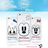 ��Disney / �ǥ����ˡ���iPhone6 / iPhone6s / 6PLUS / iPhone6sPLUS �б� disney clear hard case�ڥ����ե���6s ������ ���С� iphone6plus �ߥå��� �ߥˡ� �ɥʥ�� �ס����� �ǥ����� ���ƥ��å� iphone6 �����ե���6�ץ饹 ��