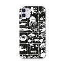 iPhone11 6.1インチ 専用 ソフトケース docomo ドコモ ソフトケース スマホカバー スマホケース ケース カバー tpu 011145 海 生き物 黒
