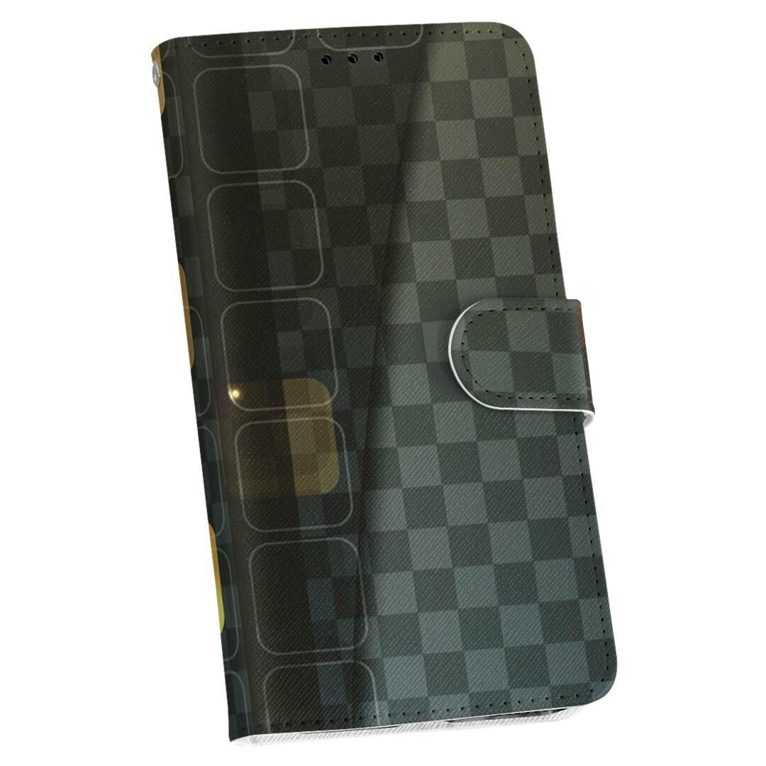 SOL25 Xperia ZL2 エクスペリア au エーユー 手帳型 スマホ カバー 全機種対応 あり カバー レザー ケース 手帳タイプ フリップ ダイアリー 二つ折り 革 その他 市松模様 000360