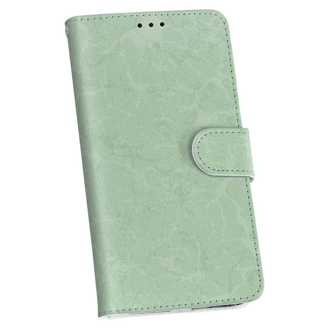 404SC GALAXY S6 Edge ギャラクシー エッジ 404sc softbank ソフトバンク 手帳型 スマホ カバー 全機種対応 あり カバー レザー ケース 手帳タイプ フリップ ダイアリー 二つ折り 革 001807 シンプル 模様 緑