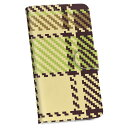 SO-04K Xperia XZ2 Premium エクスペリア エックスゼットツー プレミアム so04k docomo ドコモ 手帳型 スマホ カバー レザー ケース 手帳タイプ フリップ ダイアリー 二つ折り 革 004039 チェック ブラウン 緑