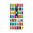 SOV37 Xperia XZ2 エクスペリア エックスゼットツー au エーユー スマホ カバー 全機種対応 あり ケース スマホケース スマホカバー TPU ソフトケース 013199 アルファベット 数字 記号