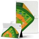 AT500 REGZA Tablet TOSHIBA 東芝 at500 LLサイズ 手帳型 タブレットケース カバー 全機種対応有り レザー フリップ ダイアリー 二つ折り 革 スポーツ 野球 おもちゃ 001132