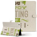 Tab 10.1 LTE SC-01D Samsung サムスン GALAXY ギャラクシー tab101ltesc01d Lサイズ 手帳型 タブレットケース カバー レザー フリップ ダイアリー 二つ折り 革 その他 英語 文字 006606
