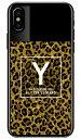 【送料無料】 Cf LTD ヒョウ柄 ネイルボトル イニシャル Y ブラウン (クリア) / for iPhone X/XS/Apple 【Coverfull】iphoneX iphoneXS ケース iphoneX iphoneXS カバー iphone X iphone XS ケース iphone X iphone XS カバーアイフォーン10 10S