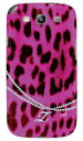 【送料無料】 ヒョウ柄pinkイニシャル-Z design by ARTWORK / for GALAXY S III α SC-03E/docomo 【Coverfull】【カバフル】【全面】【受注生産】【スマホケース】【ハードケース】GALAXY S3 α カバー ギャラクシーS3α カバー Cover