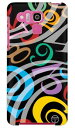 【送料無料】 おしゃれな数字 マルチカラー黒 design by ARTWORK / for DIGNO R 202K/SoftBank 【Coverfull】【ハードケース】202k ケース 202k カバー digno r 202k ケース digno r 202k カバー ディグノ ソフトバンク アクセサリー