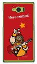 【送料無料】 Rockおやじ 赤 (クリア) design by Ringo / for AQUOS SERIE SHV32/au 【Coverfull】【ハードケース】shv32 ケース shv32 カバー aquos serie shv32 ケース aquos serie shv32 カバー au スマートフォン カバー aquos アクオスセリエ ケース