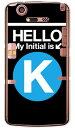 【送料無料】 Cf LTD サブウェイイニシャル K サックスブルー (クリア) / for MEDIAS X N-07D/docomo 【Coverfull】【ハードケース】docomo MEDIAS X N-07D用ケース n07dケース ケース/カバー/CASE/ケース/アクセサリー/スマホケース/スマートフォン用カバー