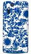 【送料無料】 kion 「flower indigo」 / for Xperia acro SO-02C/docomo 【SECOND SKIN】【スマホケース】【ハードケース】xperia acro ケース カバー エクスペリア アクロ エクスぺリア Case Cover スマートフォンケース スマホケース