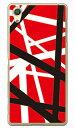 【送料無料】 ロックオマージュ レッド (クリア) / for Xperia X Performance SO-04H・SOV33・502SO/docomo・au・SoftBank 【SECOND SKIN】xperia x performance so-04h ケース so-04h カバー sov33 ケース sov33 カバー 502so ケース 502so カバー