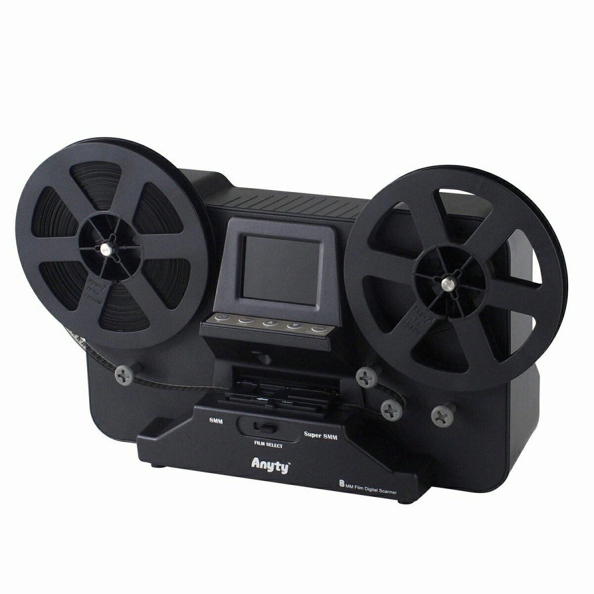 【送料無料】 3R 8mm フィルムスキャナ [Anyty (エニティ)] シングル8 スーパー8 レギュラ-8(ダブル8) 対応 デジタルコンバーター MP4 1080P USB2.08ミリ フィルム ビデオフィルム MP4 スキャナ デジタル化 簡単 映写機 パソコン スマートフォン デジタルデータ