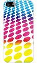 【送料無料】 ドット・レインボー produced by COLOR STAGE / for iPhone SE/5/SoftBank 【Coverfull】【全面】【受注生産】【スマホケース】【ハードケース】iPhone5カバー/アイフォン5/iphone5ケース/アイフォン 5/スマートフォン/スマホケース/ケース/ソフトバンク