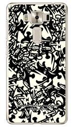 【光沢なし】 ウルトラマンシリーズ エレキング いっぱい (クリア) / for ZenFone 3 Deluxe (5.5インチ) ZS550KL/MVNOスマホ(SIMフリー端末)zenfone 3 deluxe ケース zenfone 3 deluxe カバー zs550kl ケース zs550kl カバー ゼンフォン3 ケース