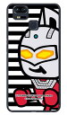 【光沢なし】 ウルトラマンシリーズ ウルトラセブン ズームボーダー (クリア) / for ZenFone 3 Zoom ZE553KL/MVNOスマホ(SIMフリー端末) 【平面】【受注生産】【スマホケース】【ハードケース】