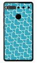 【送料無料】 ハートストライプ エメラルド×ホワイト (ソフトTPUクリア) / for Essential Phone PH-1/MVNOスマホ(SIMフリー端末) 【SECOND SKIN】essential スマホ essential スマートフォン essential スマホケース essential スマホカバー