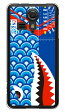 【送料無料】 シャーク 鯉のぼり ブルー (クリア) / for KC-01/UQ mobile 【YESNO】【スマホケース】【ハードケース】kc01ケース kc01カバー ユーキューモバイル KC-01ケース KC-01カバー KYOCERA キョウセラ スマホケース スマホカバー かわいい クール 人気 激安
