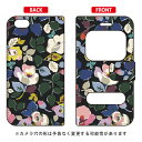 【送料無料】 窓付き手帳型スマートフォンケース SINDEE 「Bulluna Flower(ブラック)」 / for iPhone 6s Plus/Apple 【SECOND SKIN】iphone6splus ケース iphone6splus カバー iphone 6s plus ケース iphone 6s plus カバー アイフォン6sプラス ケース