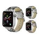 【送料無料】【Apple Watch】【アップルウォッチ】【High quality snake genuine leather belt】【ハイ クオリティ スネイク ジェニュ..