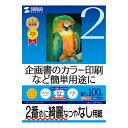 SANWA SUPPLY(サンワサプライ) インクジェットスーパーファイン用紙 (B5) JP-EM