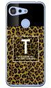 【送料無料】 Cf LTD ヒョウ柄 ネイルボトル イニシャル T ブラウン (クリア) / for Android One S6/Y mobile 【Coverfull】android one s6 ケース android one s6 カバー アンドロイドワンs6 ケース アンドロイドワンs6 カバー androidones6 ケース androidones6