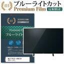 東芝 REGZA 43M530X [43インチ] 機種で使える ブルーライトカット 反射防止 液晶TV 保護フィルム メール便送料無料