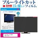 日立 Wooo L32-XB07 [32インチ] ブルーライトカット 日本製 反射防止 液晶保護フィルム 指紋防止 気泡レス加工 画面保護 メール便送料無料 母の日 プレゼント 実用的
