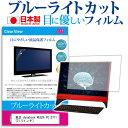 東芝 dynabook REGZA PC D711 21.5インチ ブルーライトカット 反射防止 液晶保護フィルム 指紋防止 気泡レス加工 液晶フィルム メール便なら送料無料