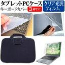 NEC VersaPro UltraLite タイプVG 13.3インチ 指紋防止 クリア光沢 液晶保護フィルム と 衝撃吸収 タブレットPCケース セット ケース カバー 保護フィルム タブレットケース メール便なら送料無料